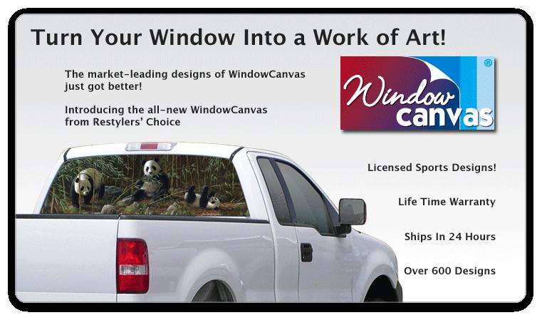 Rear Window Graphics Window Canvas Rear Window Graphics